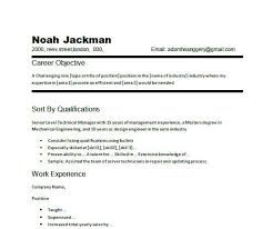 Examples Of A Objective For A Resume by General Resume Objective Samples