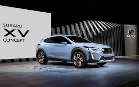 subaru crosstrek interior 2018 2018 subaru crosstrek hybrid concept car models 2017 2018