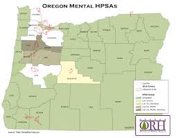 Oregon Counties Map by Oregon Resources Rural Health Information Hub