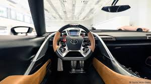 toyota motor vehicle bbc autos toyota ft 1 gets a stunning new coat