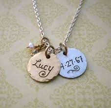 silver name charm necklace images 49 best push presents images baby shower gifts jpg