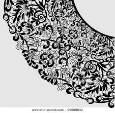 free lace ornament vector free vector stock