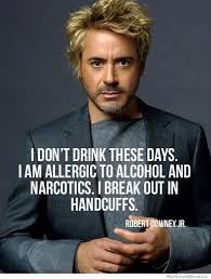Robert Downey Jr Meme - robert downey jr on drinking weknowmemes