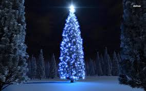 blue and white christmas tree lights christmas lights decoration