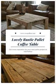 rustic pallet coffee table u2022 1001 pallets