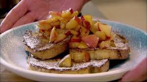gordon ramsay cuisine en famille perdu à la cannelle et compotée de pommes caramélisées façon