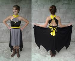 batman wedding dress batman convertible dress for being glamorous by day and