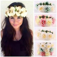 hippie flower headbands hippie headband hair accessories ebay