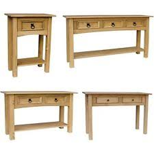 Pine Console Table Pine Console Table Ebay