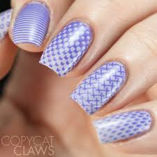 lina feeling shapely 09 nail stamping plate
