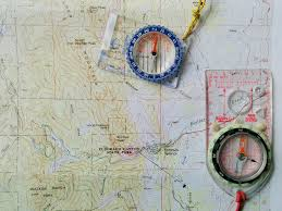 declination map map compass adjust for declination orient the map