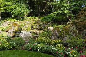 massachusetts native plants gardens in bloom at alford family estate in massachusetts
