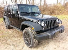 jeep wrangler maintenance schedule 2016 jeep wrangler unlimited black s of the week