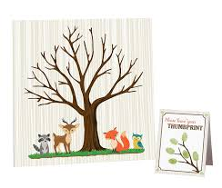 amazon com woodland baby shower invitations with owl and forest