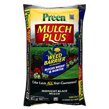 lowes preen mulch plus brown black 2 50 each ymmv depending