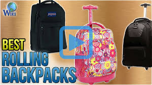 top 10 rolling backpacks of 2018 video review