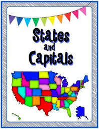 us map states and capitals best 25 states and capitals ideas on homeschool