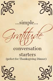 simple gratitude conversation starters dairy on the prairie