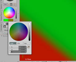 color mixing in blender is acting weird