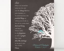 Wedding Blessing Words Marriage Blessing Etsy