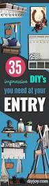 Creative Home Decor Ideas Diy 35 Impressive Diys You Need At Your Entry Diy Joy