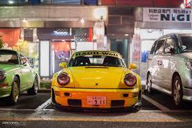 rwb porsche yellow rwb 2016 tokyo new year meet gallery drivingline