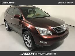 lexus rx or honda pilot 2008 used lexus rx 350 fwd 4dr at tempe honda serving phoenix az
