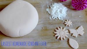 easiest halal homemade fondant ever hanael cuisne youtube