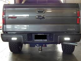 Ford Raptor Grill Lights - flush mounted led back up lights on a ford f150 these powerful