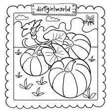 pumpkin patch coloring pages getcoloringpages