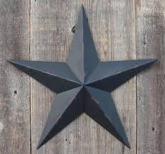 star decor for home painted metal tin barn stars galvanized metal will not rust