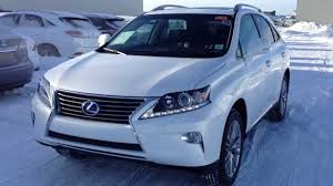 lexus rx interior 2012 2014 lexus rx 450h hybrid awd in white touring package review