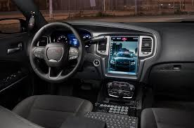 dodge charger touch screen 2016 dodge charger pursuit adds 12 1 inch touchscreen computer