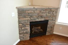 How To Decorate A Stone by Corner Fake Fireplace Living Room Decoration Beautiful Stone How