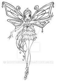 enchantix coloring pages