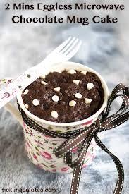 2 mins eggless microwave chocolate mug cake tickling palates