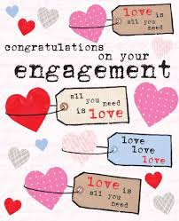 congratulations on engagement card congratulations on your engagement card 2 50 a great range of