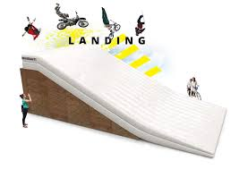 freestyle motocross ramps bigairbag landing sloped airbag for ski snowboard skate bmx
