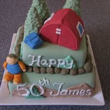 camping tent cake decorating photos