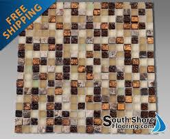 Glass And Stone Backsplash Tile by 5 8