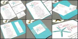 starfish wedding invitations wedding invitations starfish runkpockdesigns
