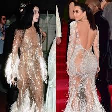 kim kardashian u0027s met gala 2015 dress was inspired by cher