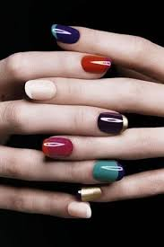 few awesome ideas on how to make a french manicure look more cool