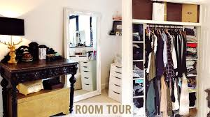 Room Closet by Room Tour U0026 Mini Closet Tour 2017 Youtube