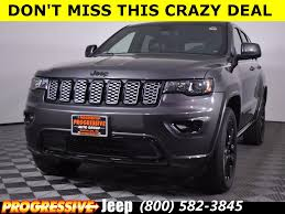dark gray jeep grand cherokee new 2018 jeep grand cherokee altitude sport utility in massillon