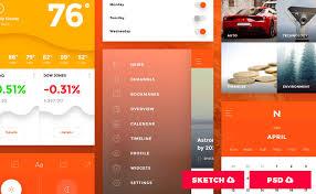 free mobile app templates u0026 free material design icons