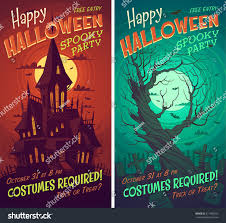 halloween background vertical halloween poster card background stock vector 217485055 shutterstock