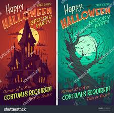 halloween poster card background stock vector 217485055 shutterstock