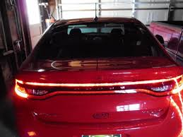 2013 dodge dart tail lights charger race track inspired taillights page 6 new dodge dart forum