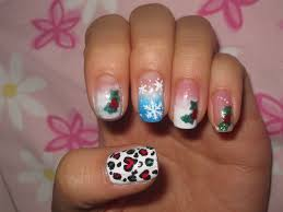 holiday nails design beautify themselves with sweet nails